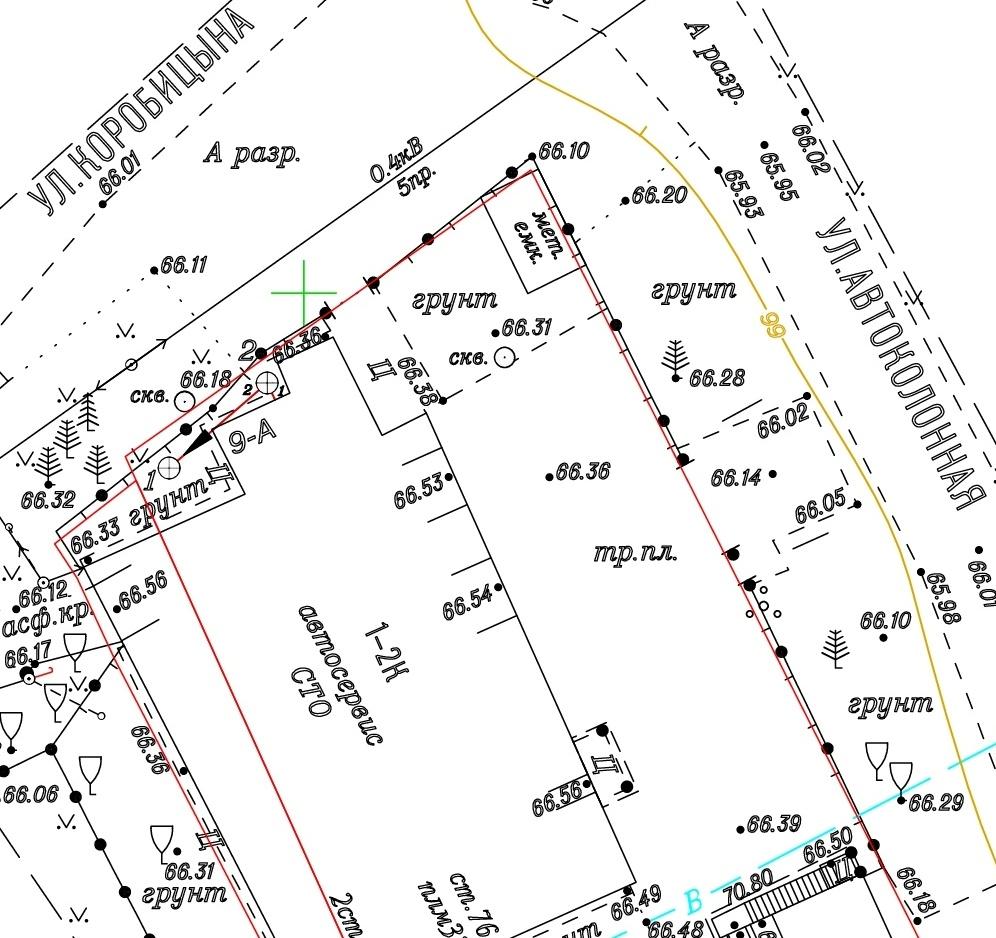 Инструкция топографической съемки